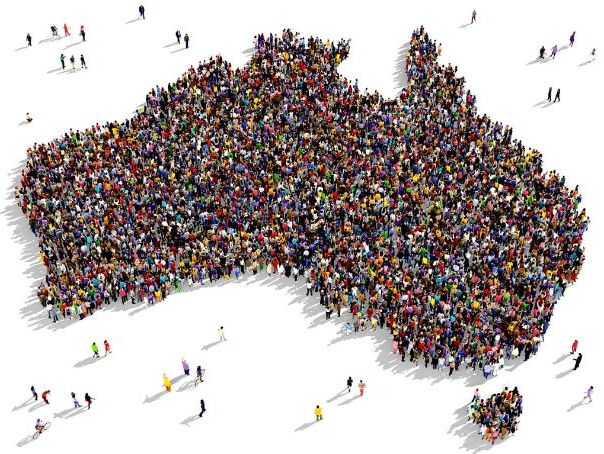 KS3 Australasia - Population of Australasia.