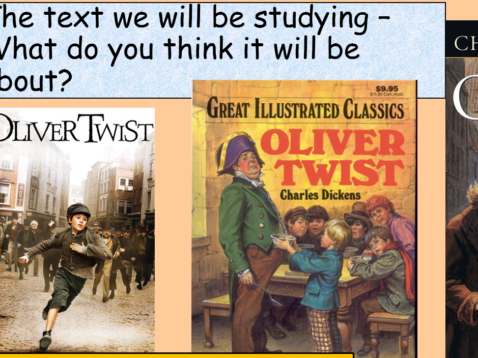 KS3 Poetry and Oliver Twist SoW