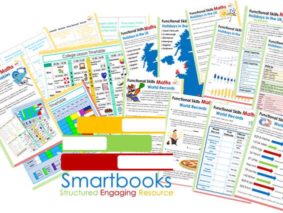 Functional Skills Maths BUNDLE 2 - World Records - Time for a  Holiday - Reading Timetables