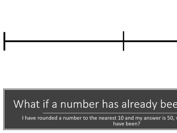 Rounding numbers to powers of 10 and upper/lower bounds