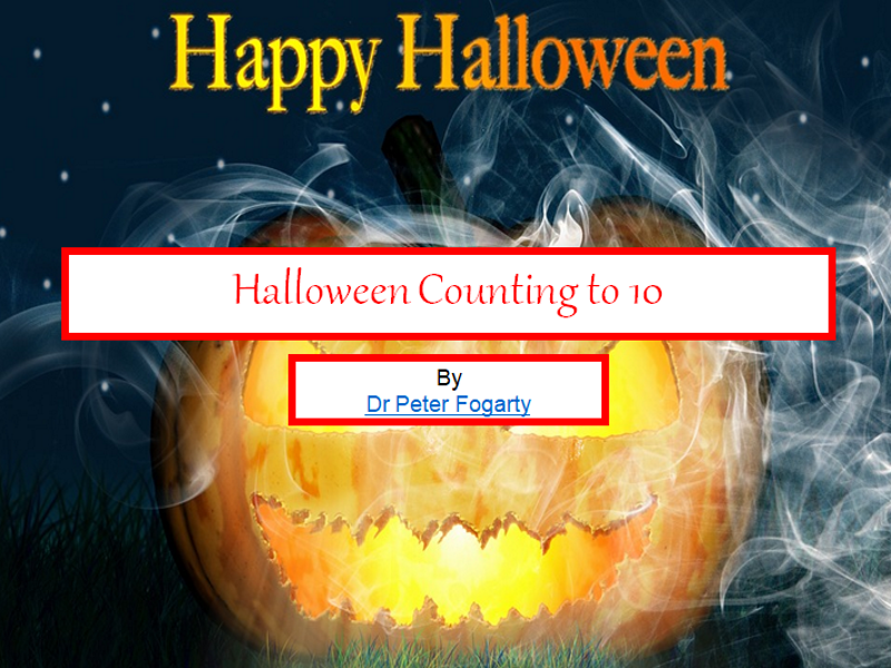 Halloween Counting To 10 + Halloween Writing Worksheets + 31 Teaching Ideas For Using This Resource