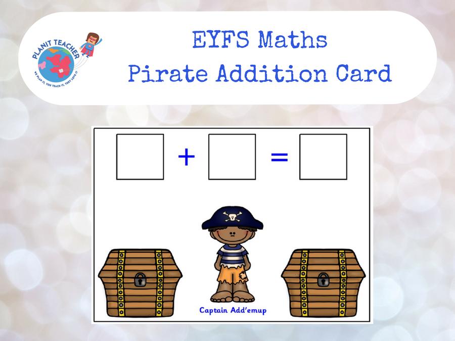EYFS Maths - Pirates 10 Frame Game by PlanitTeacher - Teaching ...
