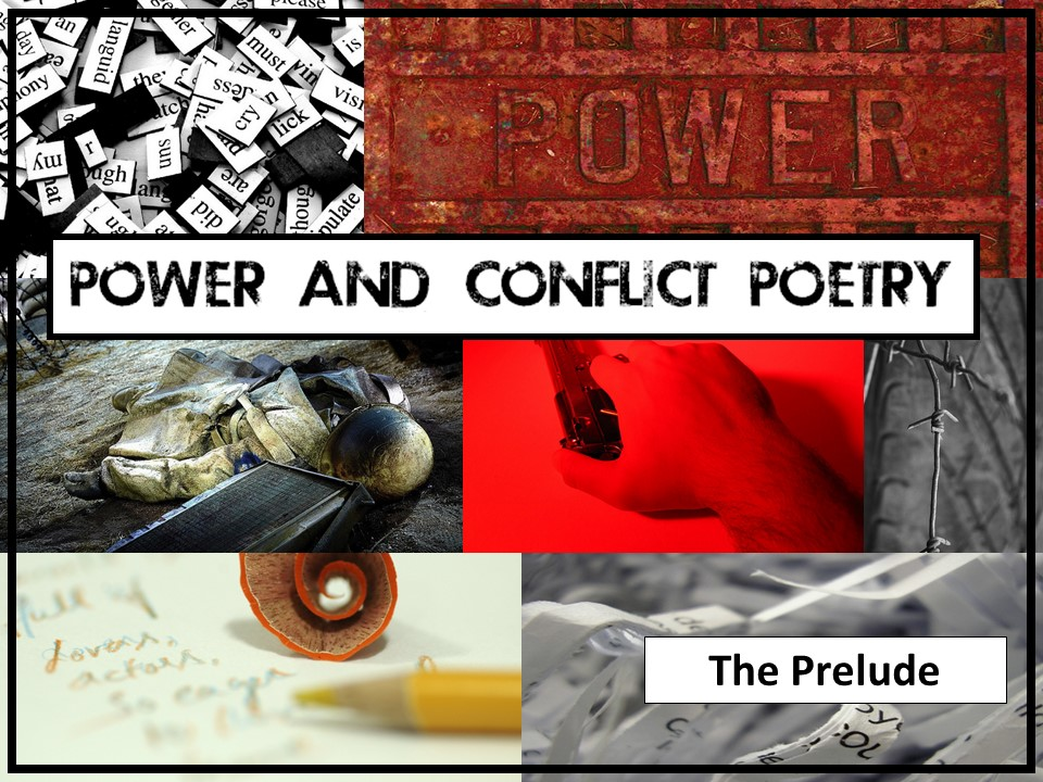 AQA English Lit GCSE Power and Conflict Poetry: 'The Prelude', William Wordsworth