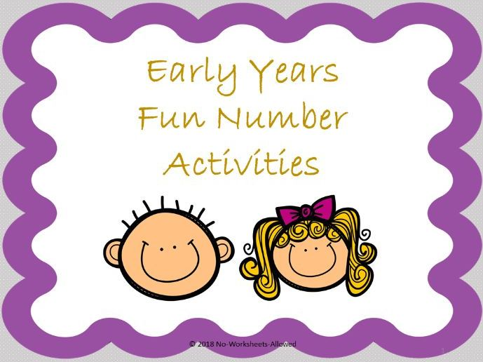 Number Activities and Resources