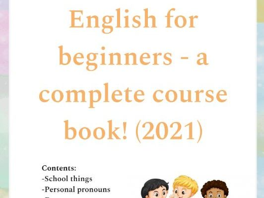 NO PREP English for beginners - a complete course book (2021)