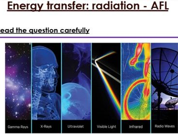 KS3 Energy transfer six mark question
