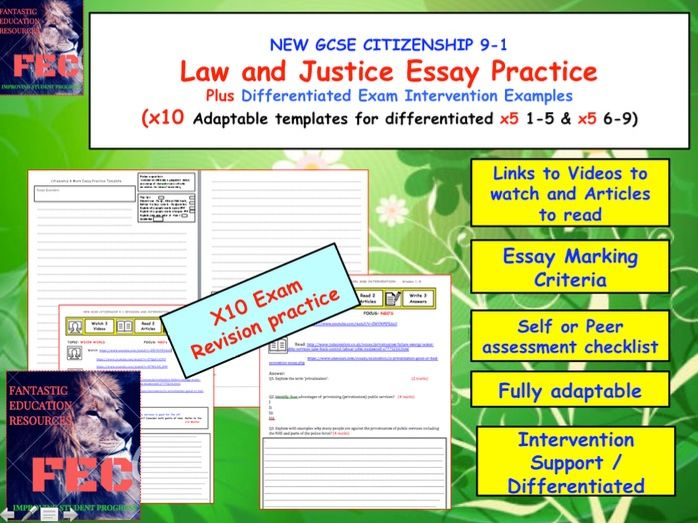 Middle School Community Identity And Diversity Resources Exam Practice For Law And Justice Elements Gcse Citizenship