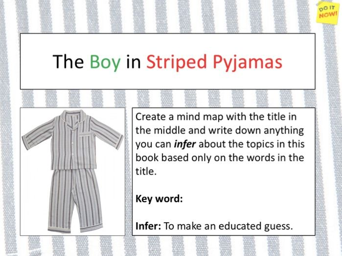 Boy In The Striped Pyjamas - Chapter 1