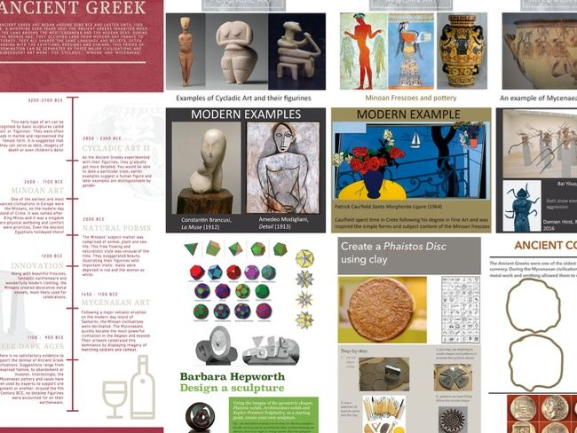 Ancient Greek Art knowledge organiser