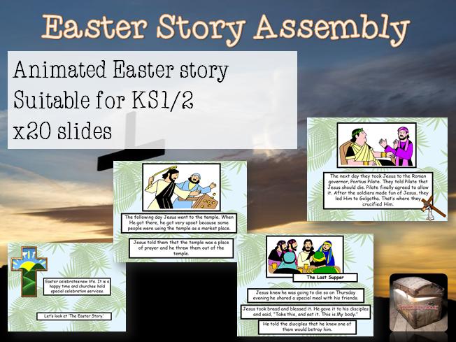 KS1 KS2 Easter Story Assembly