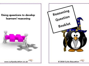 Developing Numerical Reasoning through Questioning - Pocket-sized Booklets and Speech Bubbles for Y5
