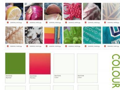 Colour matching & Pantone task