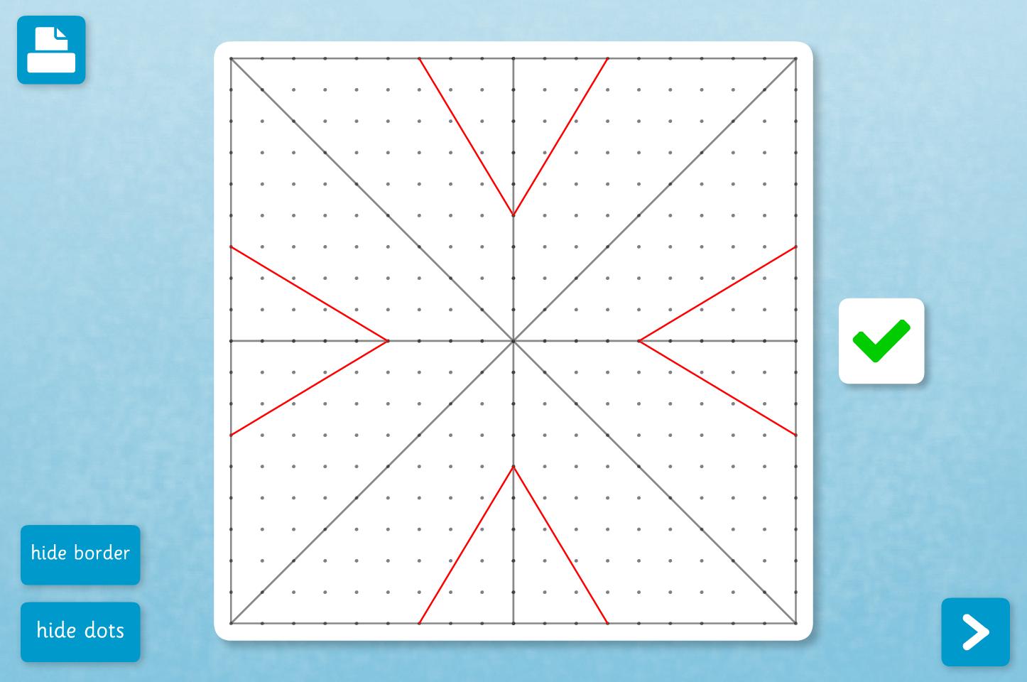 Symmetrical Rangoli Designs - Interactive Activity - Diwali KS2