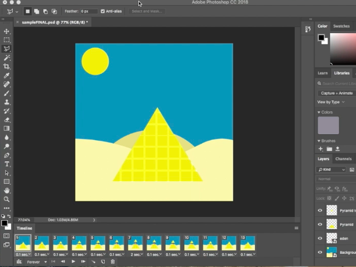 Adobe Photoshop CC: Video Animations