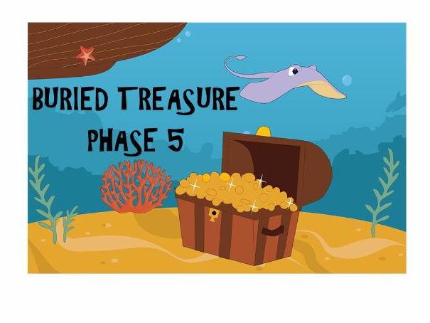 Phonics-Phase 5 Buried Treasure