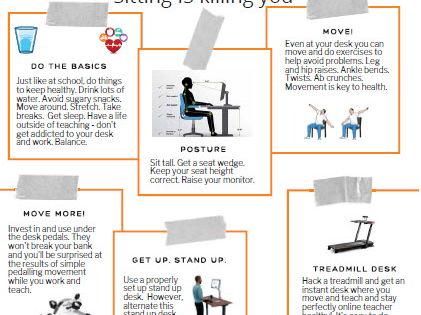 Online Teacher Wellness - Tips and Advice
