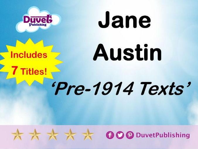 Collection of 7 Jane Austin novels