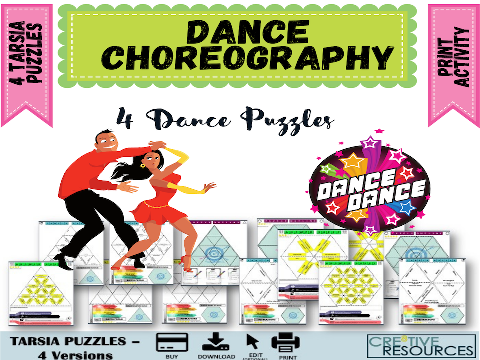 Choreography Dance Puzzles
