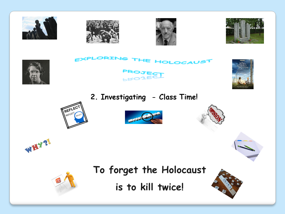 Exploring the Holocaust Project - 2. Investigating