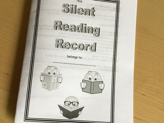 Editable Silent Reading ERIC Record