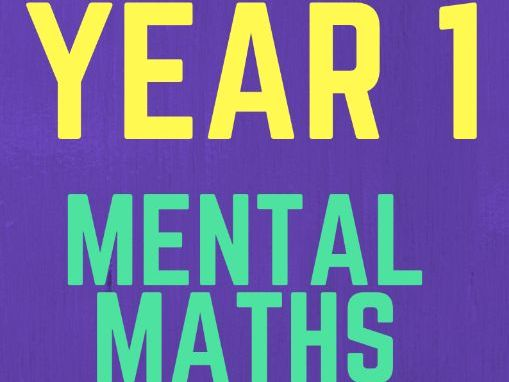 Year 1 Mental Maths Revision Book