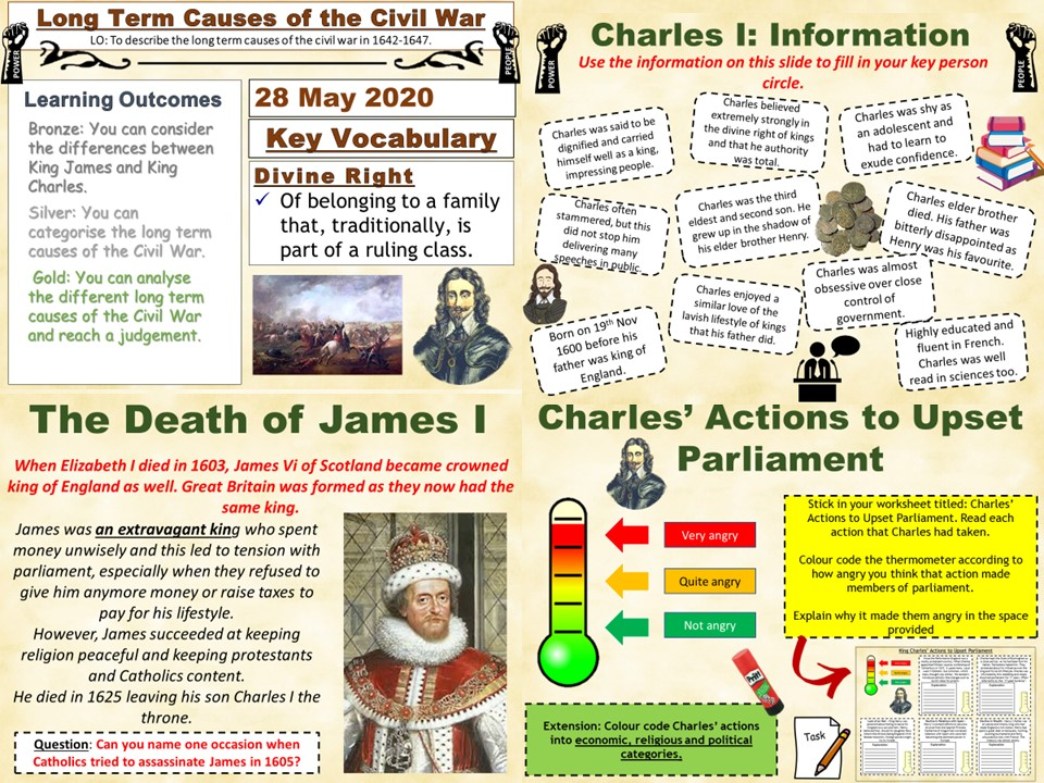 Power & The People: Long Term Causes of The English Civil War