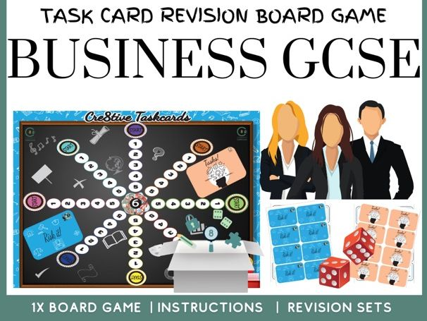 Business GCSE Revision Board Game