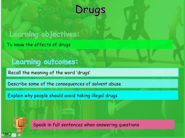 Healthy Lifestyles: Drugs