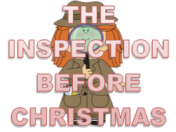 The Inspection Before Christmas - SAMPLE - A pantomime for staff to perform to students