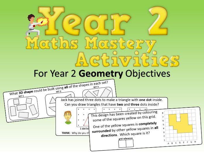 Geometry Mastery Activities – Year 2