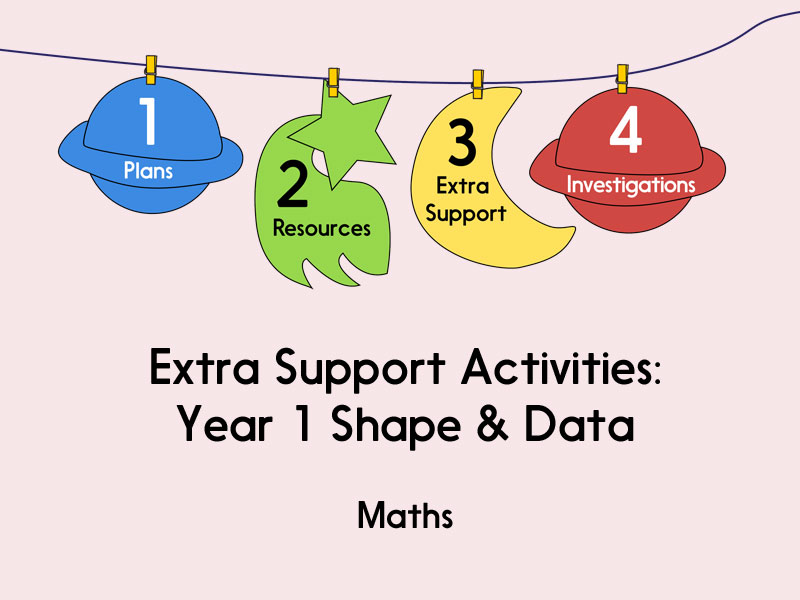 Year 1 Shape & Data: Extra Support Activities