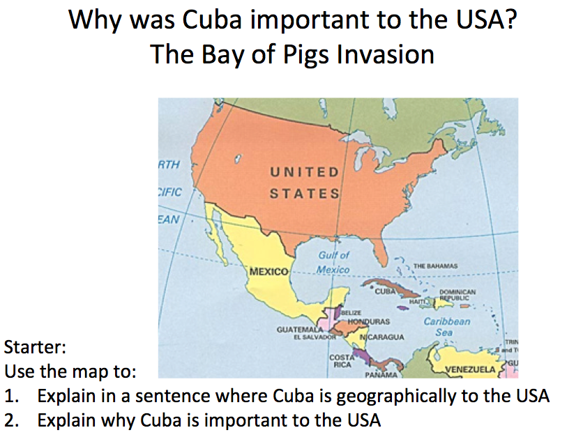 Cuba - Lesson 1 the Bay of Pigs