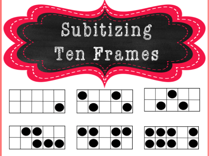 Subtitizing Ten Frames