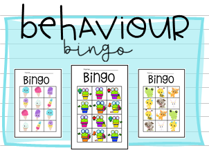 Behaviour Bingo Classroom Management Tool