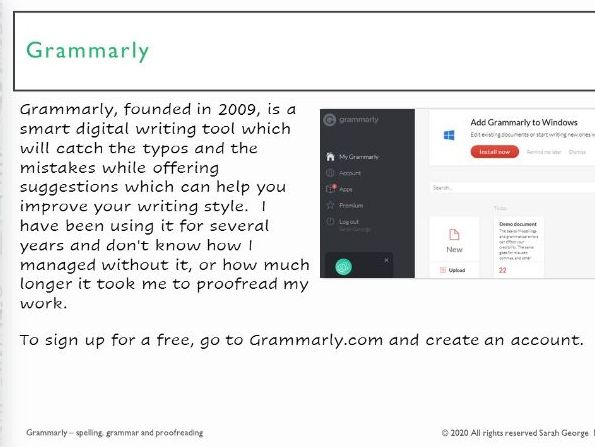 Grammarly - what it is and how to use it