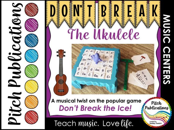 Music Center: Don't Break the Ukulele! - Ukulele Centers Game