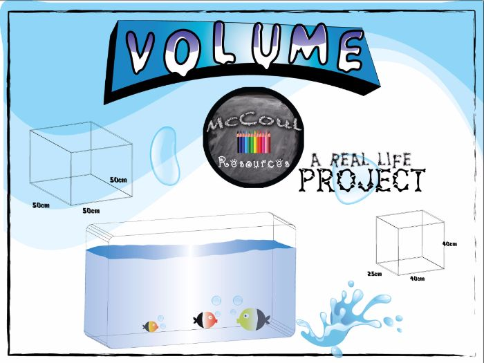 Volume - Project Based Learning in Math