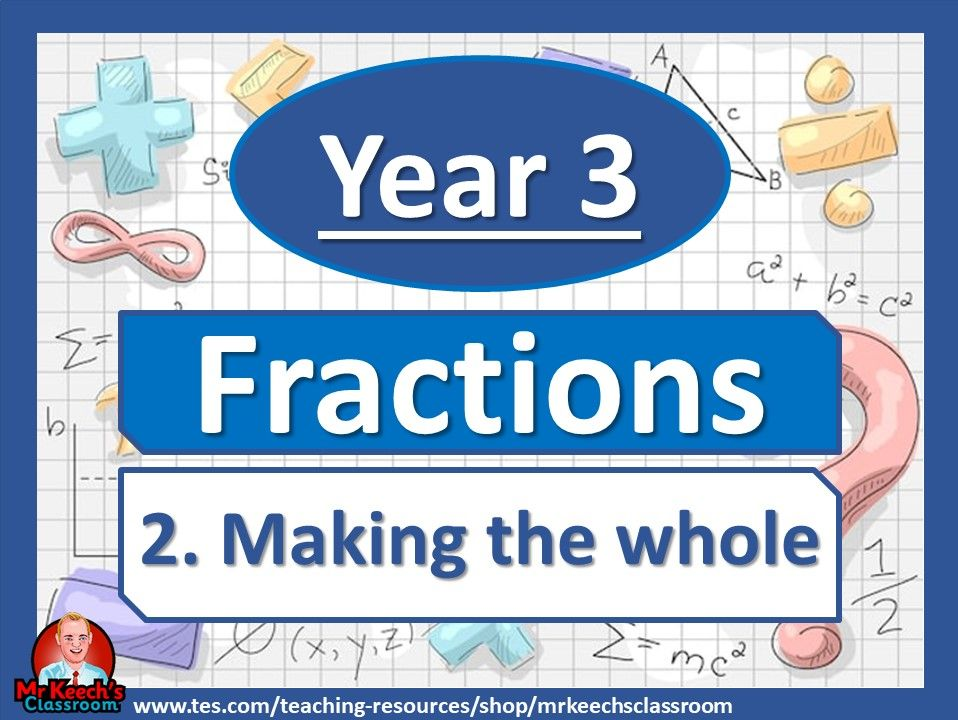 Year 3 – Fractions – Making the whole - White Rose Maths