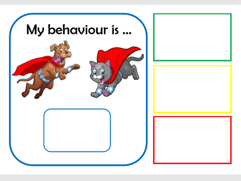 My behaviour is...