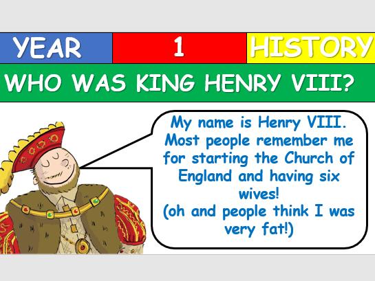 KS1 History - Who was Henry VIII?