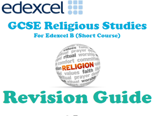 RE Paper 2: Relgion Peace and Conflict Revision Guide
