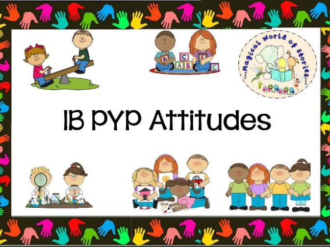 IB PYP Attitudes - Back to School
