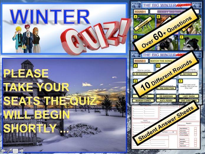 Winter Quiz 2018