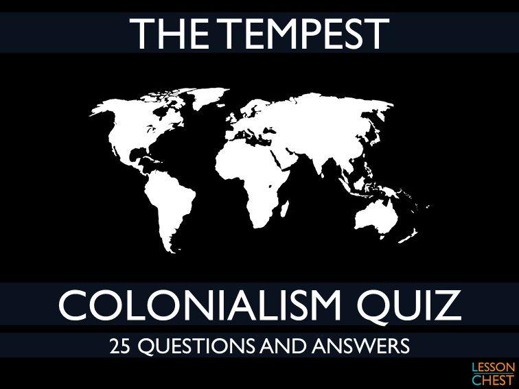 The Tempest Quiz