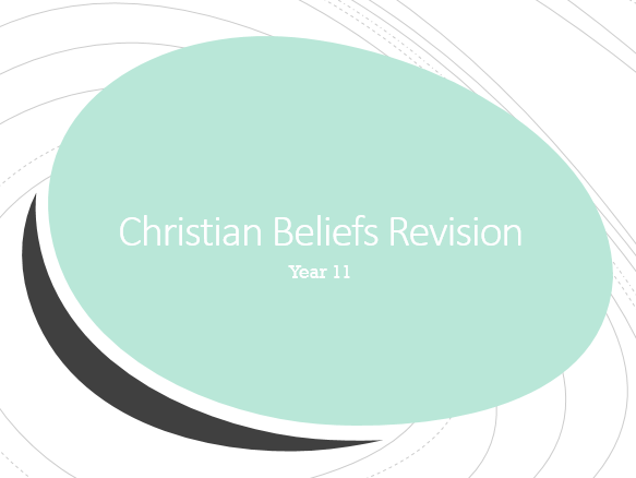 AQA GCSE Christianity Revision Work book