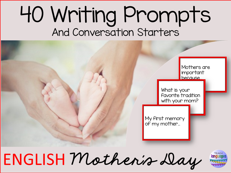 Writing prompts & conversation starters - Mother´s Day