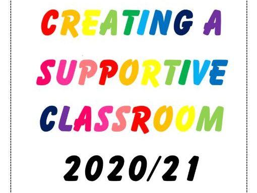 Creating a Supportive Classroom Handbook