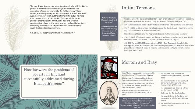 AQA History: 1C Tudors Revision