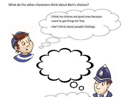 Bungling Bert PSHE Citizenship/Being Responsible