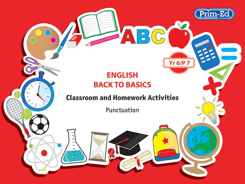 ENGLISH BACK TO BASICS: YR6/P7 PUNCTUATION UNIT